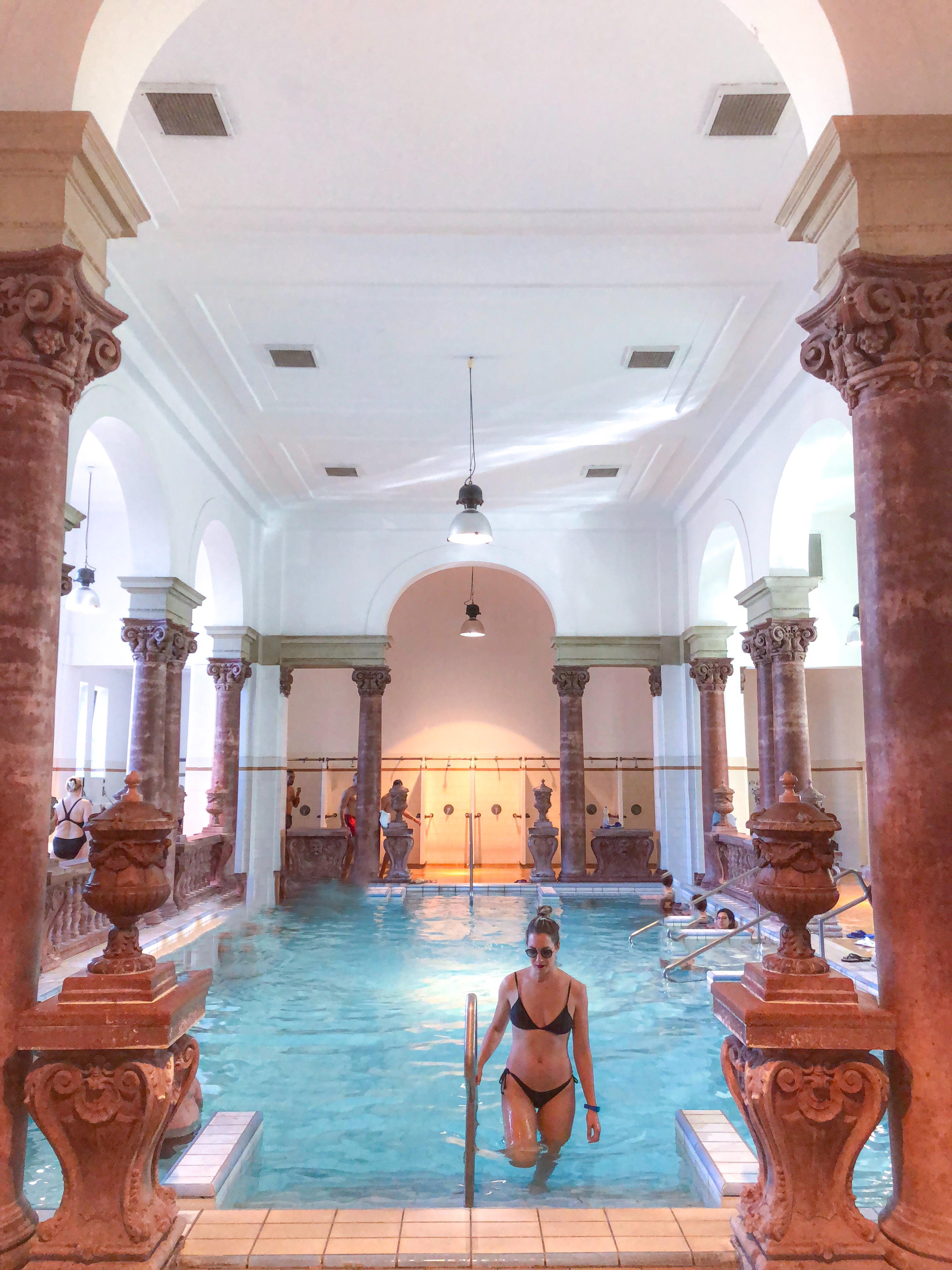 banhos termais Budapeste , thermal bath Budapest , Széchenyi