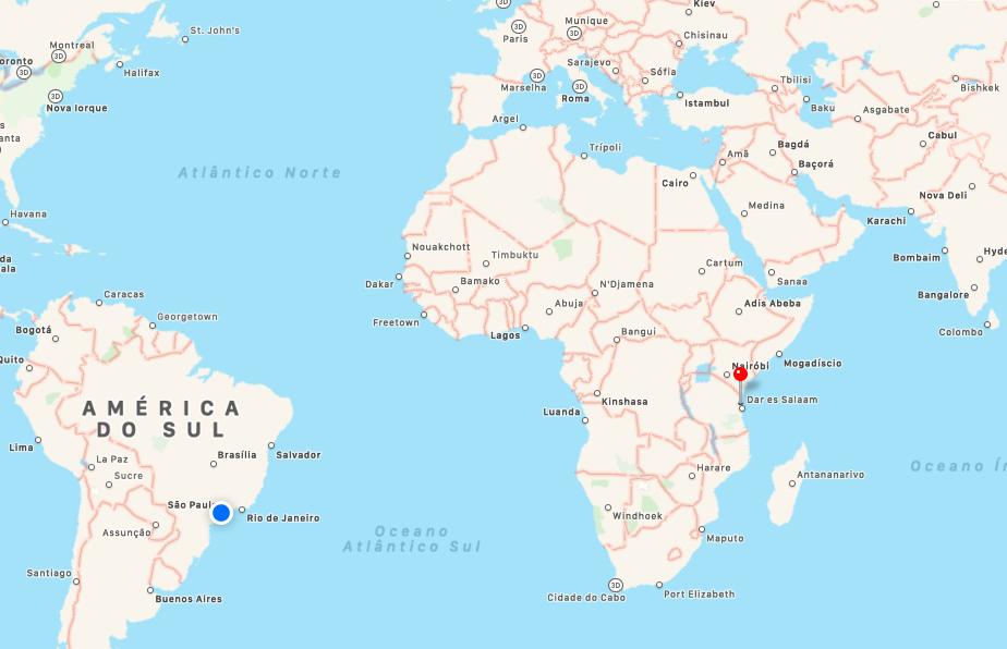 onde fica Zanzibar ? Mapa Zanzibar -