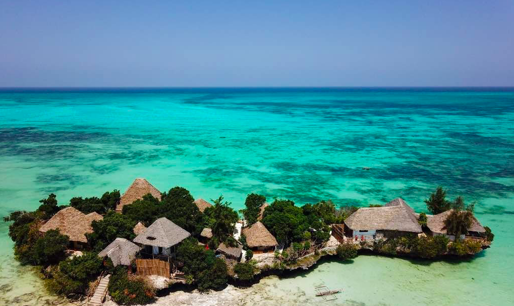 restaurant the island Zanzibar