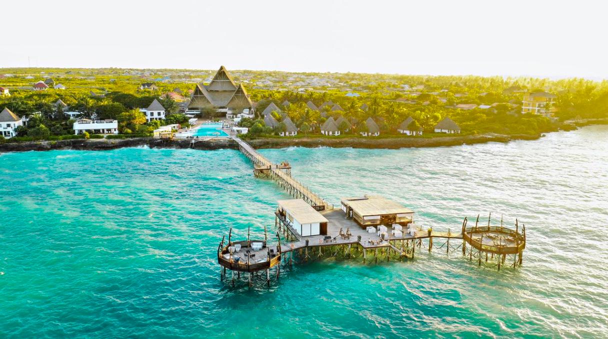 restaurante The Jetty Zanzibar , onde comer em Zanzibar