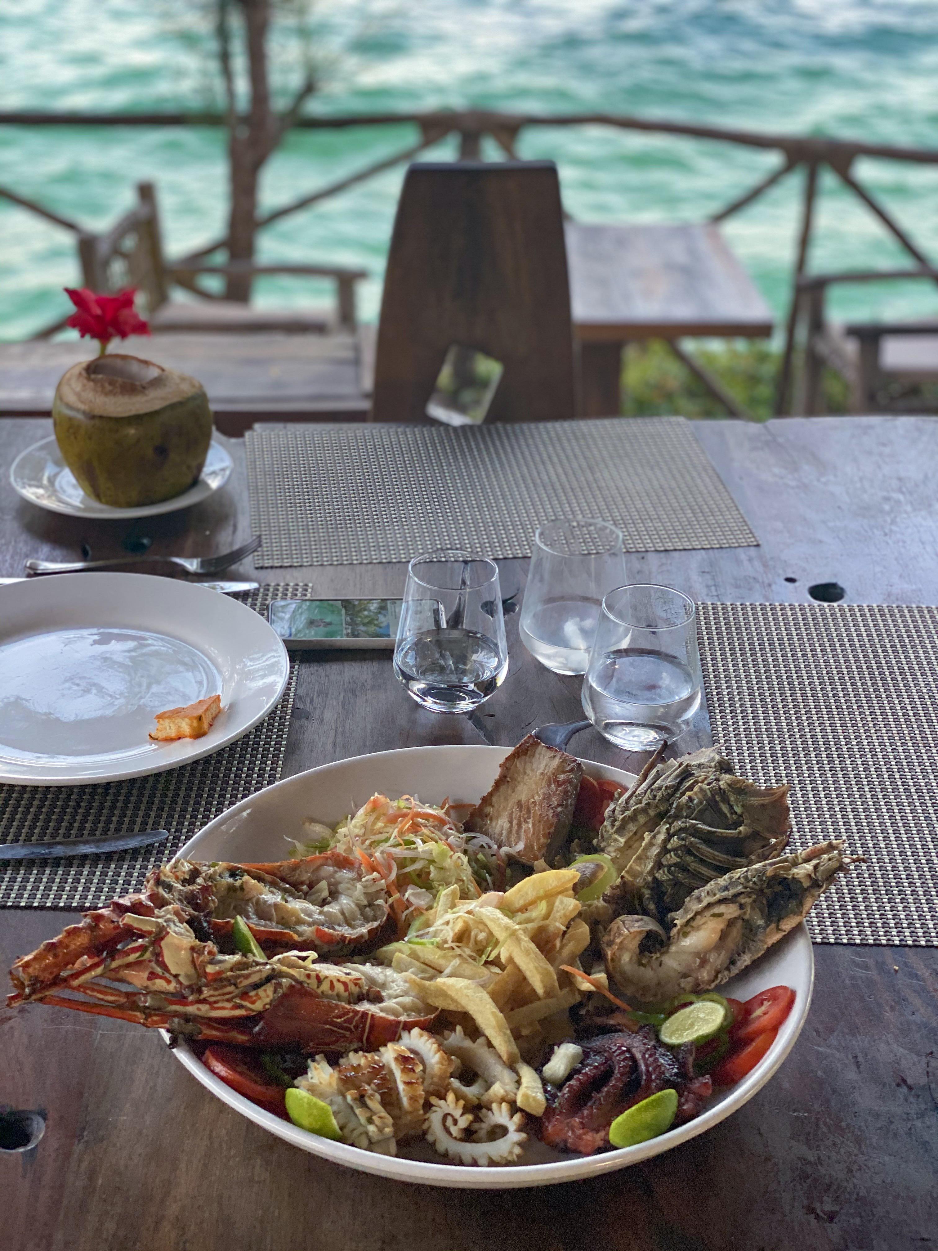 Melhores restaurantes Zanzibar - onde comer em zanzibar